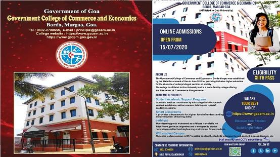 GCM College Admission Banner